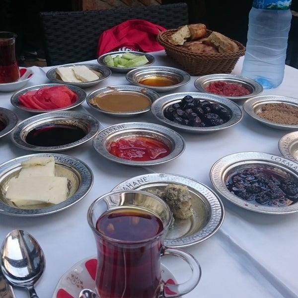 9/17/2017 tarihinde Gulseren M.ziyaretçi tarafından Lokmahane Restaurant'de çekilen fotoğraf