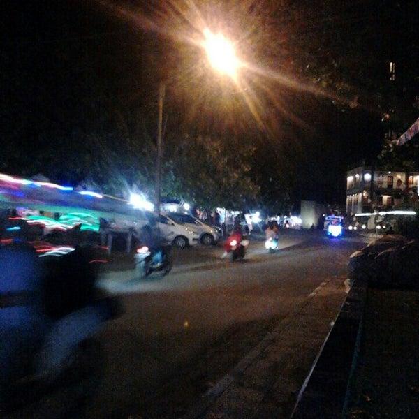 Photo taken at Pantai Barat Pangandaran by diki h. on 8/27/2016