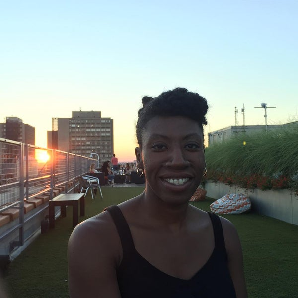 Photo taken at Meetup HQ Roof Deck by Wayne F. on 8/1/2015