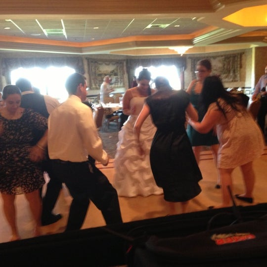 Photo taken at Quidnessett Country Club by Luke T R. on 10/6/2012