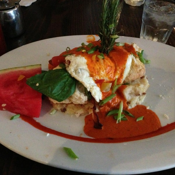 Photo taken at Hash House a Go Go by astami on 9/1/2013