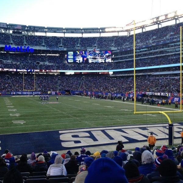 Photo taken at MetLife Stadium by EDUARDO L. on 12/30/2012