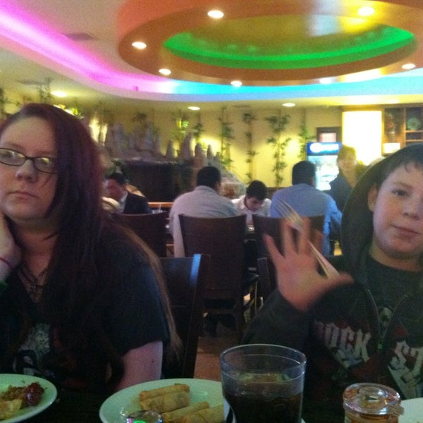 Photo taken at Amber Buffet & Hibachi by Maggie M. on 2/10/2013