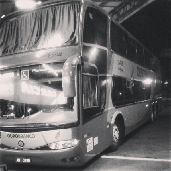 Photo taken at Terminal Rodoviário José Garcia Villar by Gabriel T. on 6/5/2013