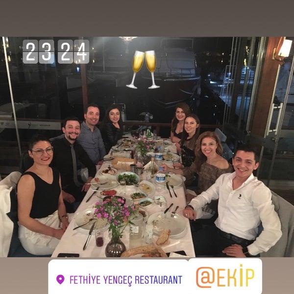 4/15/2018 tarihinde Hüseyin B.ziyaretçi tarafından Fethiye Yengeç Restaurant'de çekilen fotoğraf
