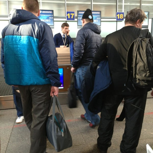 Photo taken at Check-in desk by Анатолий Д. on 3/7/2013
