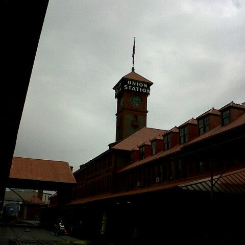 Photo taken at Union Station Amtrak (PDX) by Uchien U. on 5/16/2013