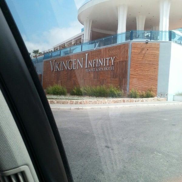 6/26/2013 tarihinde Emre B.ziyaretçi tarafından Vikingen Infinity Resort Hotel & Spa'de çekilen fotoğraf