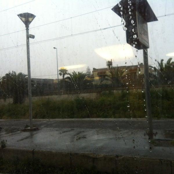 Photo taken at Gare de Mohammédia  محطة المحمدية by NiNa on 5/21/2013