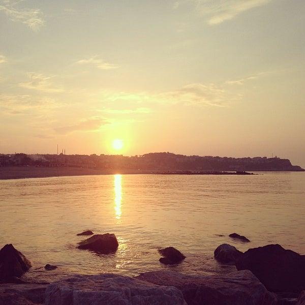 5/5/2013 tarihinde Gülce Ş.ziyaretçi tarafından Karaburun Plajı'de çekilen fotoğraf