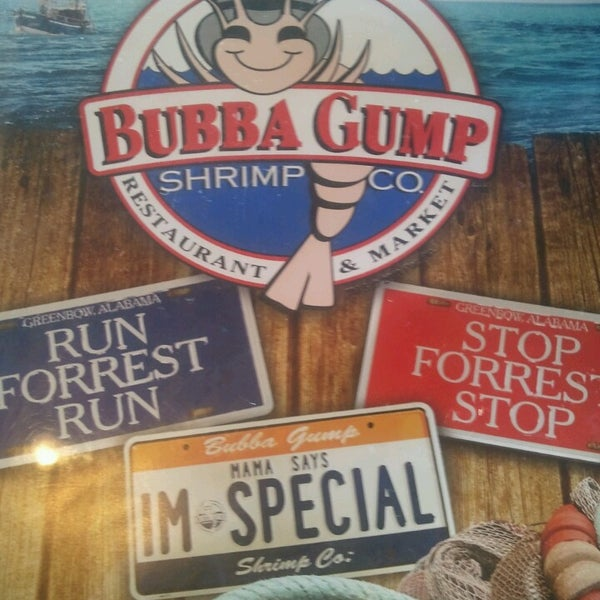 bubba gump shrimp co interational marketing
