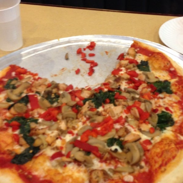 Photo taken at Burke Street Pizza by Holly R. on 1/21/2013