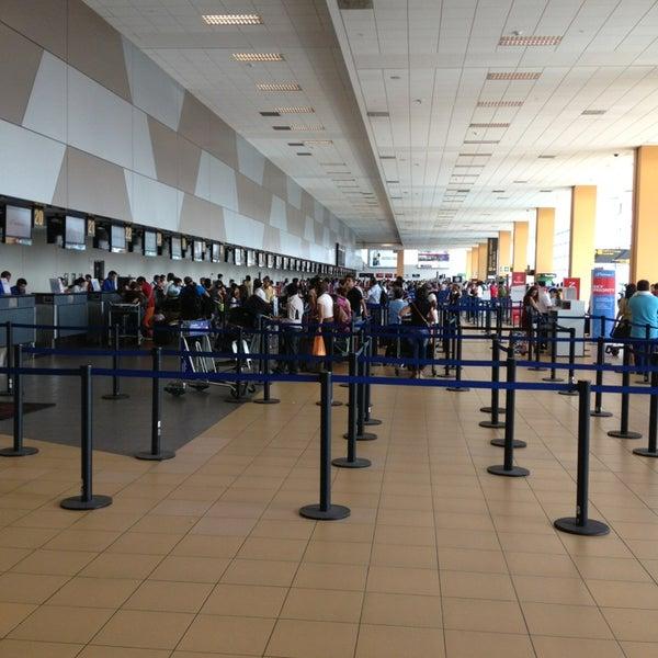 Photo taken at Jorge Chávez International Airport (LIM) by Jaime C. on 3/2/2013