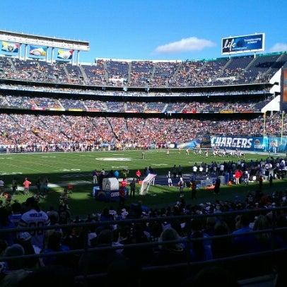 Photo taken at Qualcomm Stadium by @joe4pres on 12/2/2012