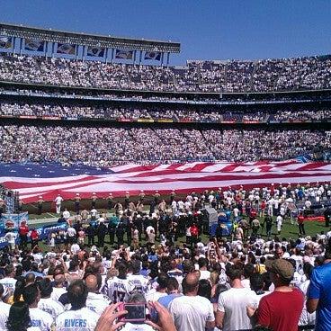 Photo taken at Qualcomm Stadium by @joe4pres on 9/17/2012