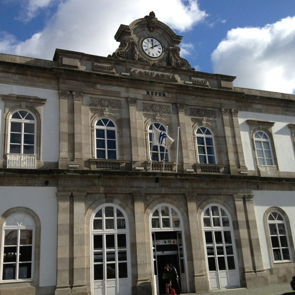 Photo taken at Estação Ferroviária de Porto-Campanhã by Paula C. on 2/2/2013