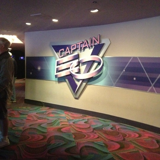 Photo taken at Captain EO by Heather W. on 11/19/2012