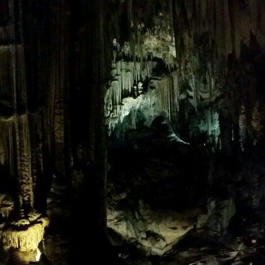 Photo taken at Caves of Nerja by Carmen V. on 8/1/2016