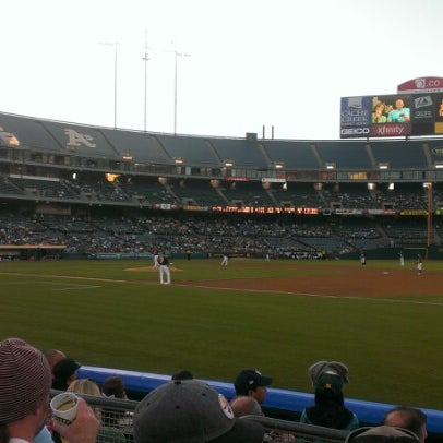 Photo taken at O.co Coliseum by Daniel S. on 5/1/2013