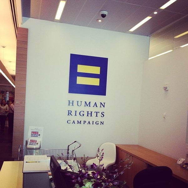 Photo taken at Human Rights Campaign by Amanda H. on 7/11/2014