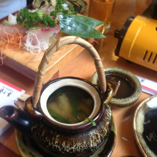 Excelente comida japonesa