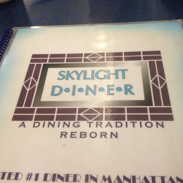 Photo taken at Skylight Diner by Kelsey B. on 3/3/2013