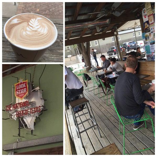 Photo taken at Jo's Coffee by Eileen M. on 2/13/2015