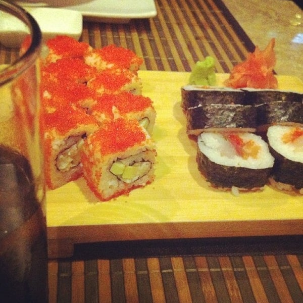 Photo taken at Kyoto Japanese Restaurant by Anna S. on 2/23/2013