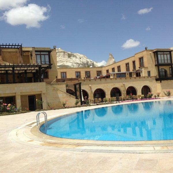 6/9/2013 tarihinde Semra B.ziyaretçi tarafından Tourist Hotels & Resorts Cappadocia'de çekilen fotoğraf