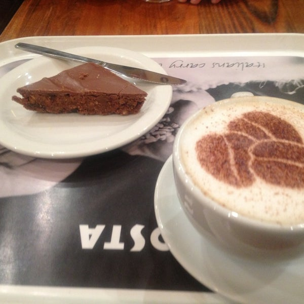 Photo taken at Costa Coffee by Yasemin H. on 4/3/2013