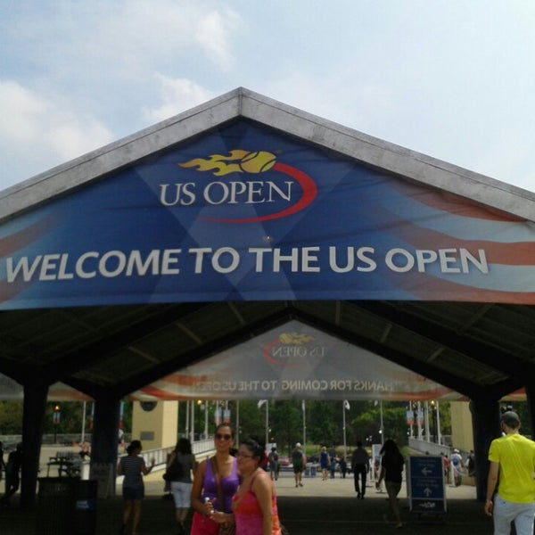 Photo taken at US Open Tennis Championships by Alicia A. on 8/31/2013