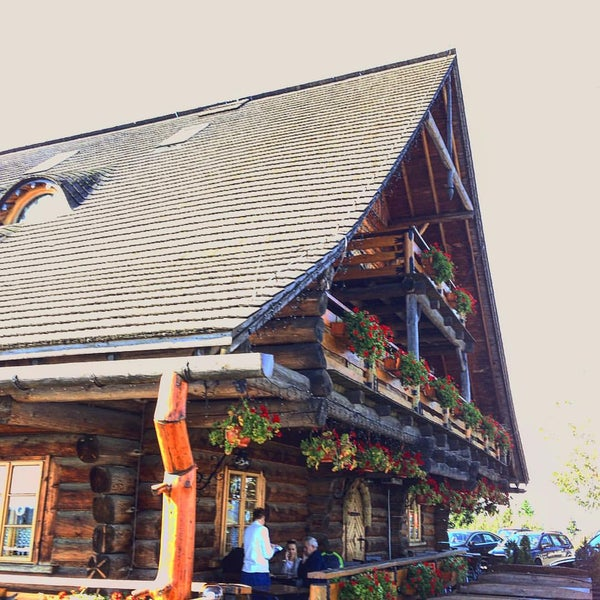 Photo taken at Karczma Ochodzita by Dominik R. on 9/23/2015