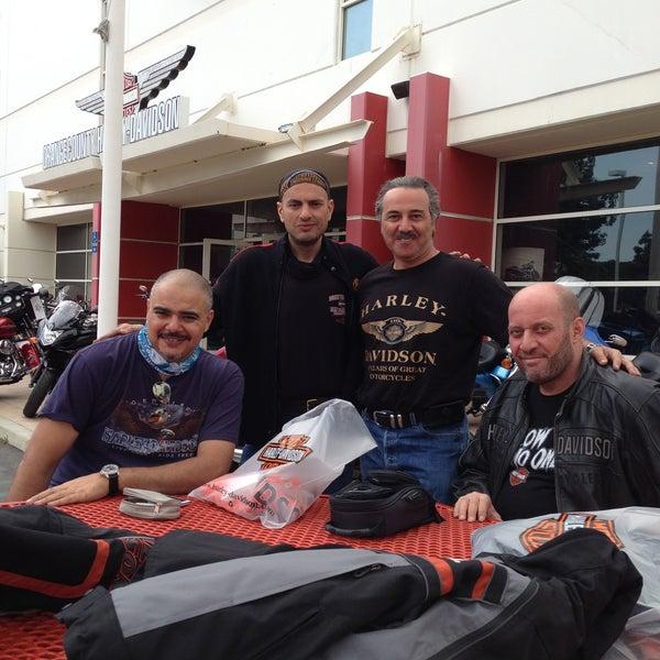 Photo taken at Orange County Harley-Davidson by Essam A. on 4/25/2013