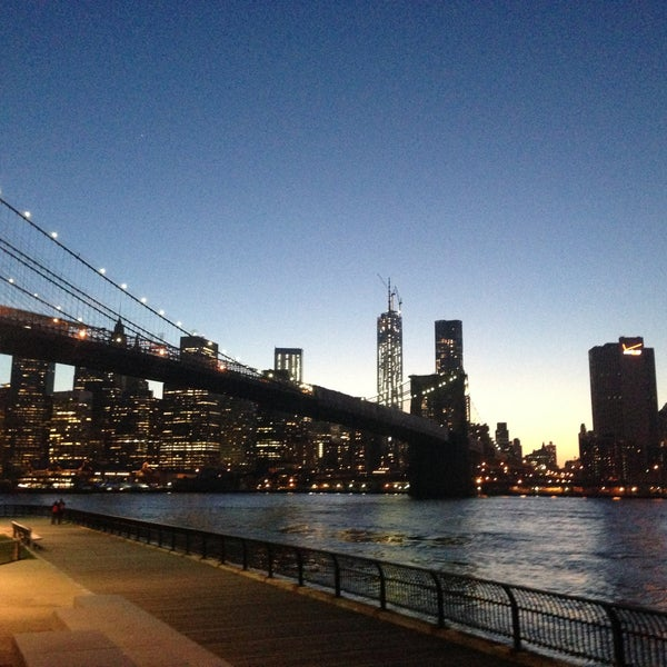 Photo taken at Brooklyn Bridge Park by 🐾Daria S. on 5/4/2013