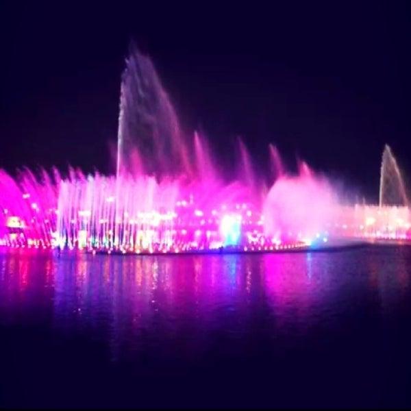 Photo taken at King Abdullah Park by Noura on 11/21/2013
