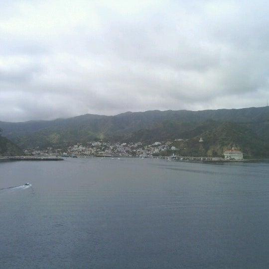 Photo taken at Santa Catalina Island by Martha G. on 3/5/2013