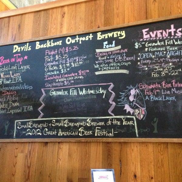 Devils Backbone Brewery Tour