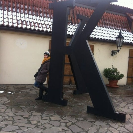 10/30/2012 tarihinde Burcak A.ziyaretçi tarafından Franz Kafka Museum'de çekilen fotoğraf