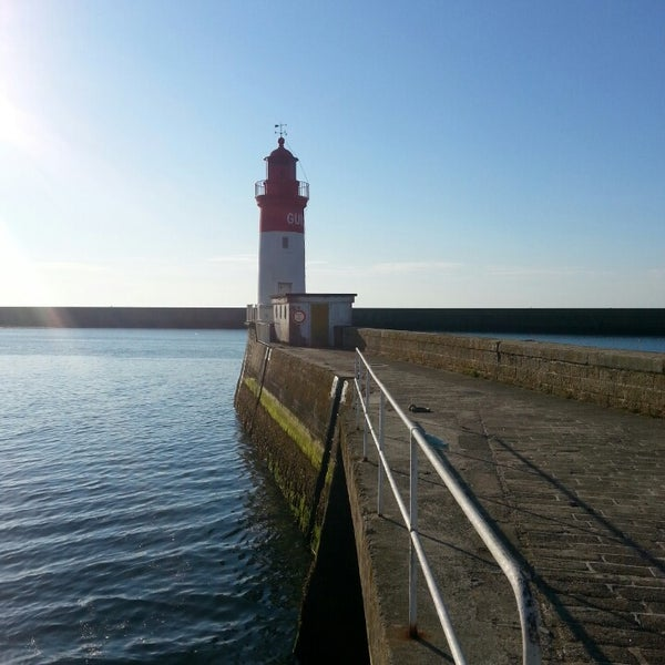 Photo taken at Port du Guilvinec by Anne-Laure on 8/22/2013