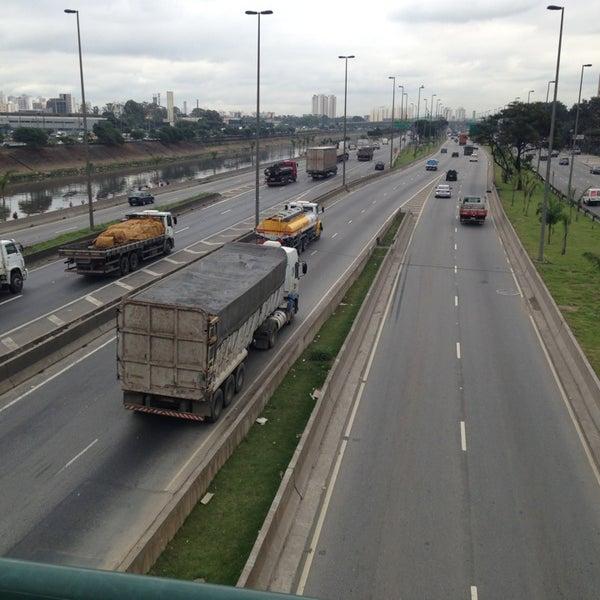 Photo taken at Ponte do Limão by Guillerme Almeida Nascimento G. on 6/3/2013