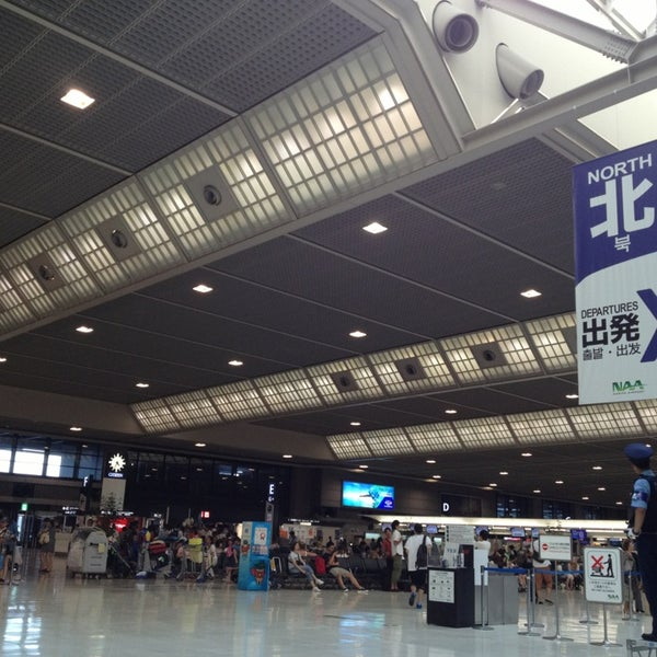 Photo taken at International Departure Lobby by Midori F. on 7/9/2013