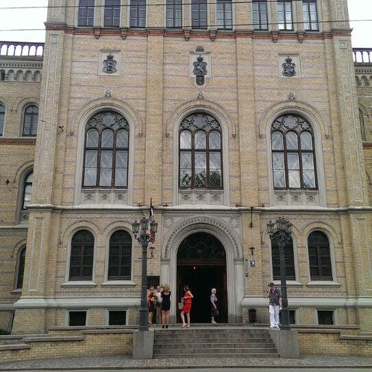 Photo taken at University of Latvia by Klāvs O. on 6/22/2013