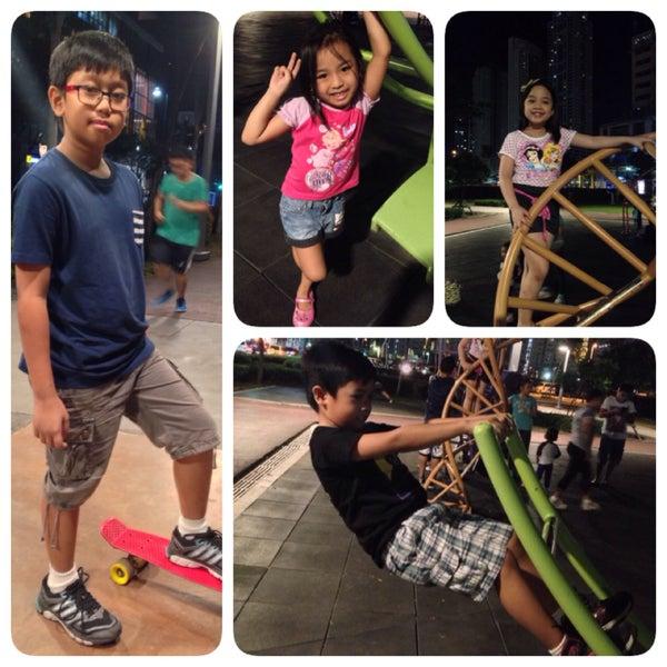 Photo taken at Bonifacio High Playground by JB P. on 1/31/2015