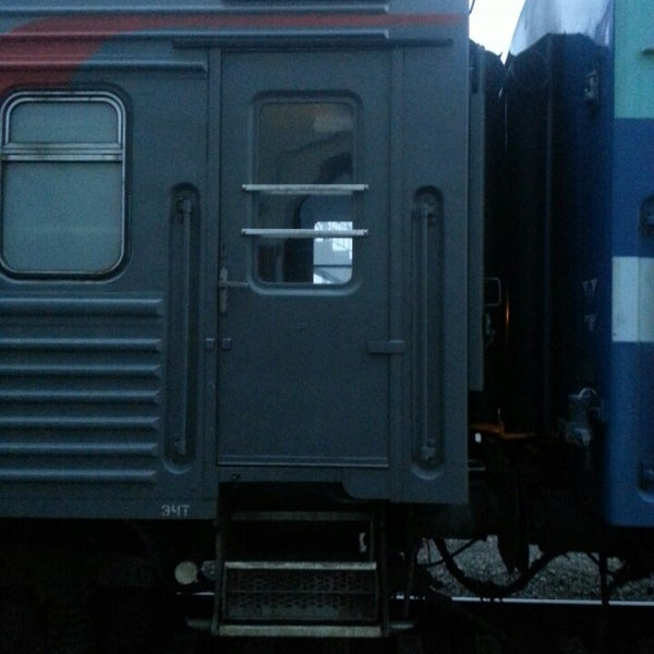 Photo taken at Железнодорожный вокзал Владивостока / Vladivostok Railway Station by Viktoria on 4/1/2013