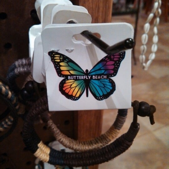 Butterfly clothing store
