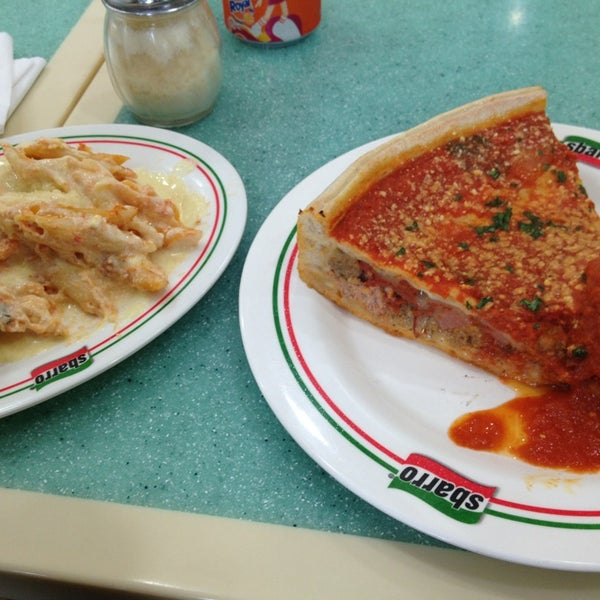 Photo taken at Sbarro by Beverly M. on 7/12/2013