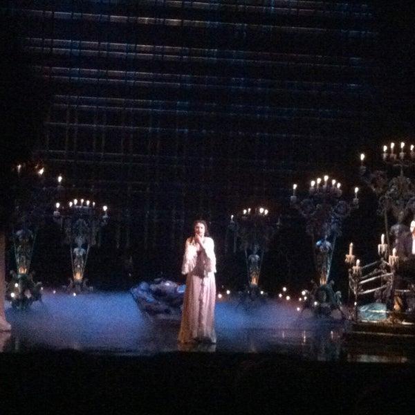 Foto tirada no(a) Majestic Theatre por Anastasia A. em 7/17/2013