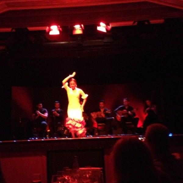 Photo taken at Palacio del Flamenco by Sıdıka Senem Ç. on 6/21/2013