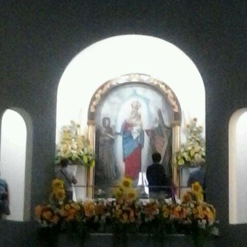 Photo taken at Iglesia Nuestra Señora De La Chiquinquira by Sandra F. on 3/29/2013