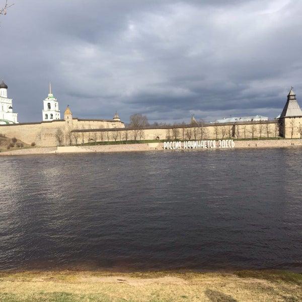 Photo taken at Pskov by Александр Д. on 4/14/2017